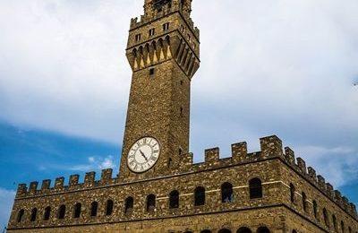 Uffizi Tower, Piazza Della Signoria